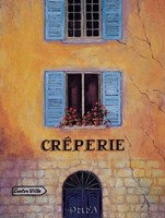 Creperie Fine Art Print