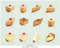 """Genoese Fancies by Carol Ican - 13"""" x 11"""""""