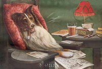 A Bachelor's Dog Fine Art Print