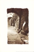 Archway and Stone Jar Fine Art Print