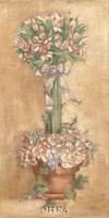 Pink Sorbet Topiary Fine Art Print