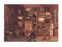 Gallery of the Louvre Fine Art Print