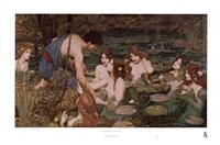 Hylas and the Nymphs Fine Art Print