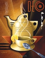 Deco Tea Fine Art Print
