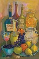 Mediterranean Kitchen IV Fine Art Print