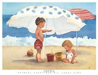 Primary Sand Talk Fine Art Print