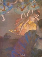 "Ballerina and Lady with Fan by Edgar Degas - 18"" x 24"""