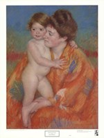 Woman with Baby Fine Art Print