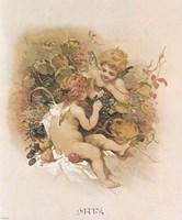 Adoring Cupids Fine Art Print