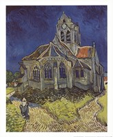 Church at Auvers Fine Art Print