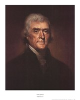 Thomas Jefferson Fine Art Print