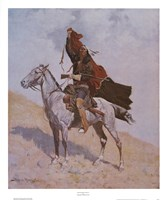 "Blanket Signal by Frederic Remington - 22"" x 26"""
