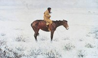 "Herd Boy by Frederic Remington - 26"" x 18"""
