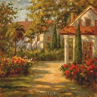 Sunlit Path Fine Art Print