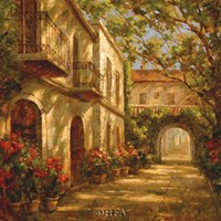 Along The Passageway Fine Art Print