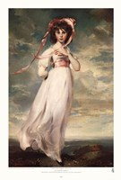 "Pinkie (Sarah Barrett Moulton) by Sir Thomas Lawrence - 16"" x 23"""
