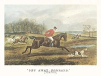 "Get Away Forrard by T.N.H. Walsh - 22"" x 18"""