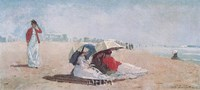 "East Hampton, Long Island, 1874 by Winslow Homer, 1874 - 26"" x 13"""