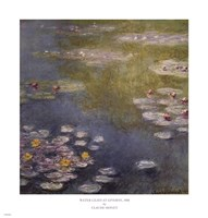 Waterlilies at Giverny by Claude Monet - various sizes