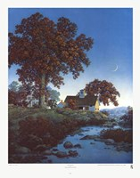 "New Moon by Maxfield Parrish - 18"" x 23"""