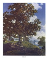 "Peaceful Valley by Maxfield Parrish - 18"" x 22"""