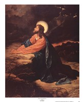 Christ in Gethsemane Fine Art Print