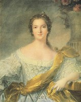 "Madame Victoire de France by J.m. Nattier (d'apres) - 18"" x 24"""