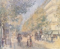 Les Grands Boulevards Fine Art Print