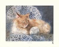 """Punkin the Cat by Joanne Dibiase - 18"""" x 14"""""""