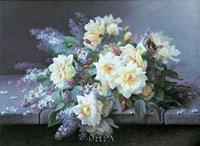 Roses & Lilacs Fine Art Print