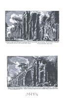 Avanzo degli archi Neroniani Framed Print
