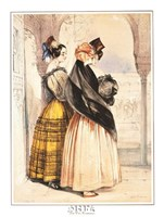 Las Dos Hermanas Fine Art Print