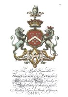 Coat of Arms-Frederick Augustus Berkeley Fine Art Print
