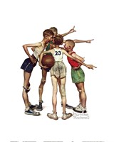 """Oh, Yeah by Norman Rockwell - 16"""" x 20"""" - $12.49"""