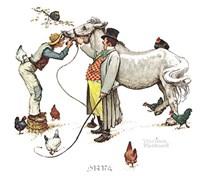 Horse Trader Fine Art Print