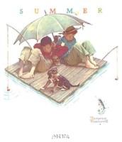 Fisherman's Paradise Fine Art Print