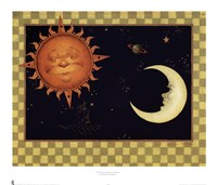 The Sun & Moon & Stars Fine Art Print