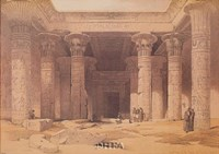 Grand Portico of the Temple of Philae Fine Art Print