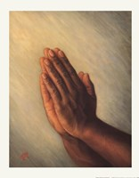 Praying Hands Fine Art Print
