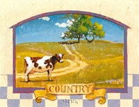 "Country by Thomas LaDuke - 13"" x 11"""