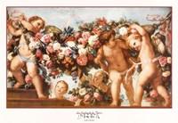 La Guirlande de Fleurs Fine Art Print