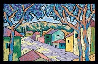 Village Vista Fine Art Print