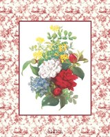 Camellias and Toile Fine Art Print