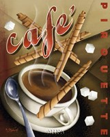"Cafe Pirouette by Michael Kungl - 18"" x 22"""