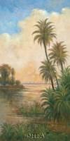Tropical Serenity I Fine Art Print