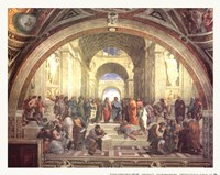School of Athens Fine Art Print