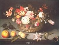 """Corbeille de Fleurs by Johannes Bosschaerts - 24"""" x 20"""""""