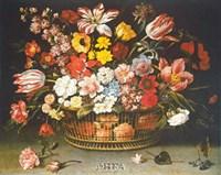 Corbeille de Fleurs Fine Art Print