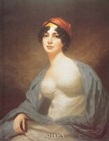 "Mrs. Hume Drummond by Sir Henry Raeburn - 22"" x 28"""