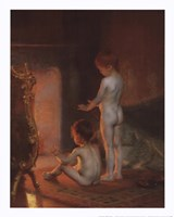 After the Bath, 1890 Fine Art Print